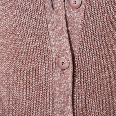 Gilet maille anglaise  : Vue zoom matière