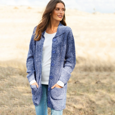 Gilet maille anglaise