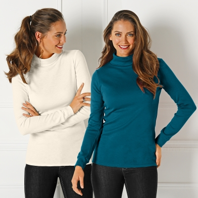 Sous-pull maille Courtelle® - lot de 2