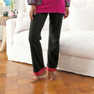 Pantalon uni ou imprimé - mix and match