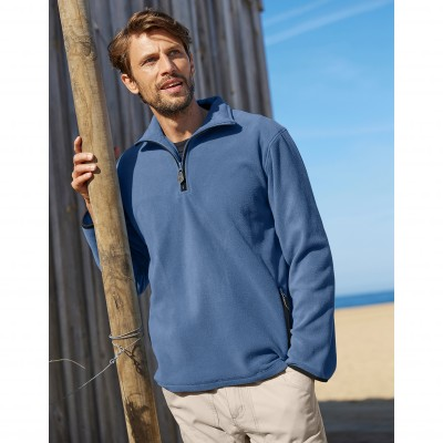 Sweat camionneur maille micropolaire