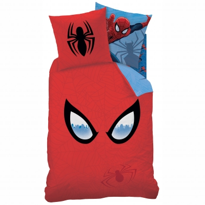 Parure de lit Spiderman Mask Marvel® 100% coton