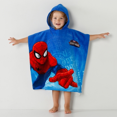 "Cape de bain ""Spiderman Ultima"" en velours"
