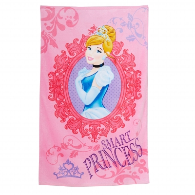 "Drap de bain ""Princesse Midnight"" Disney®"