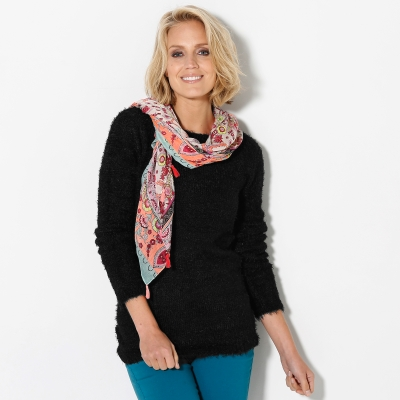 Pull col rond maille douceur  : Vue 1