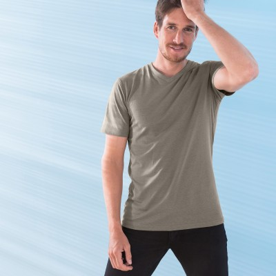 T-shirt col V - lot de 3  : Vue 1