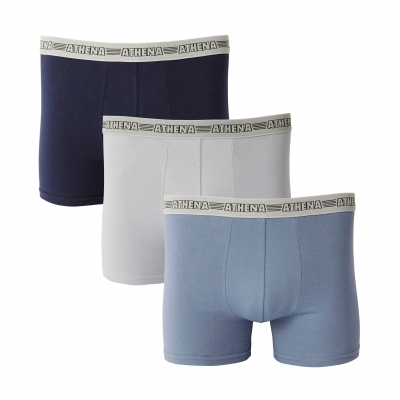 Boxer Basic Stretch extensible - lot de 3  : Vue 1
