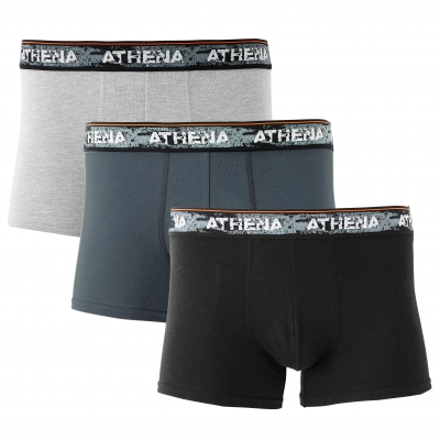 Boxer Authentic - lot de 3  : Vue 1