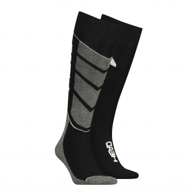 Chaussettes ski Head® Performance noir/blanc - lot de 2 paires