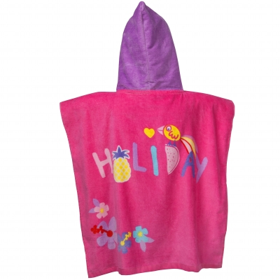 Cape de bain Peppa Pig® Rose: Vue 2
