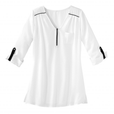 Blouse-tunique bi-colore  : Vue 2