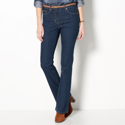 Jean effet push-up coupe bootcut Stone: Vue 2