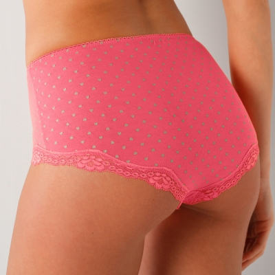 Shorty fantaisie dentelle - lot de 3  : Vue 2