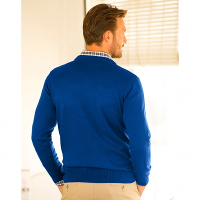 Pull col rond 80% laine  : Vue 2