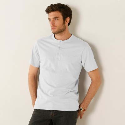 T-shirt col tunisien - lot de 3  : Vue 2