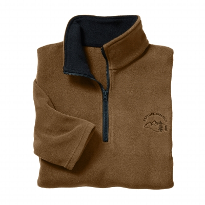 Sweat micropolaire Taupe: Vue 2