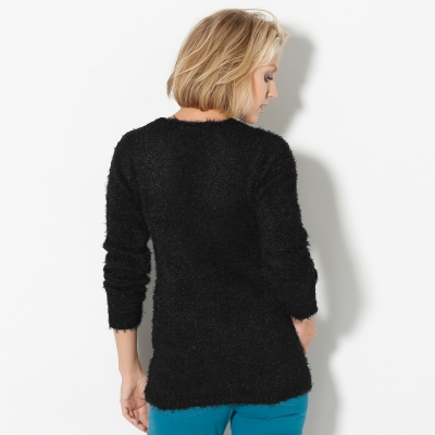 Pull col rond maille douceur  : Vue 3