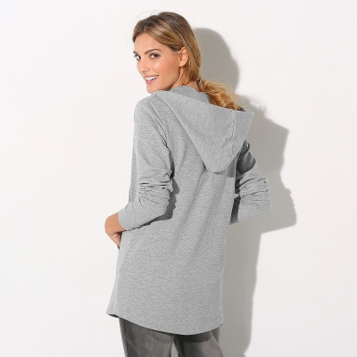 Sweat à capuche Gris chiné: Vue 3