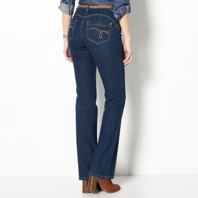Jean effet push-up coupe bootcut Stone: Vue 3