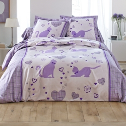 Linge de lit Catty coton