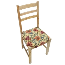 Couvre-chaise style tapisserie