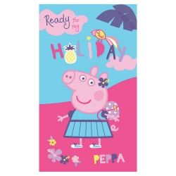 "Drap de bain ""Peppa Pig Holiday""®"