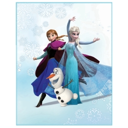 Plaid Princesse Frozen®