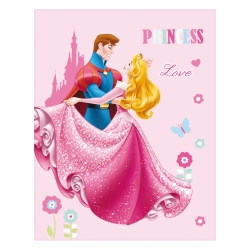 Plaid polaire Princesse Love®