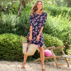 Robe manches courtes