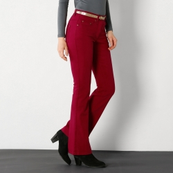 Pantalon bootcut stretch