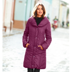 Parka allongeante