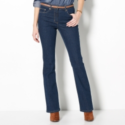 Jean effet push-up coupe bootcut