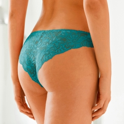 Culotte tanga dentelle - lot de 2