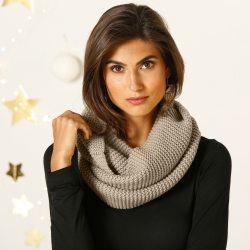 Snood maille douce