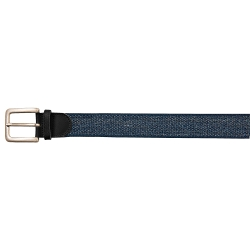 Ceinture extensible finitions cuir