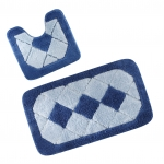 Tapis de bain carreaux