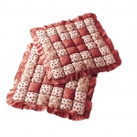 Galettes de chaise Patchwork - lot de 2