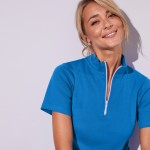 Tee shirt long uni col rond