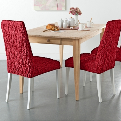 Galette de chaise blancheporte for Housse de chaise extensible