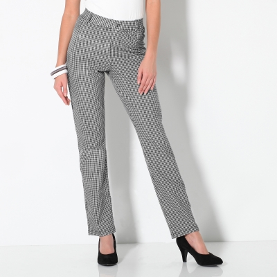 Pantalon maille imprimée ultra stretch