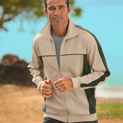 Veste molleton Natural Option® : Vue catalogue