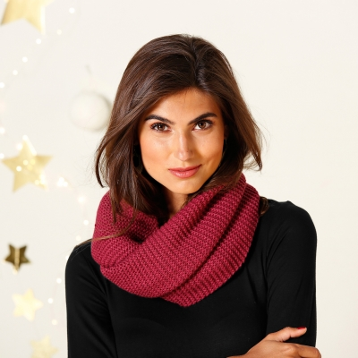 Snood maille douce - Femme