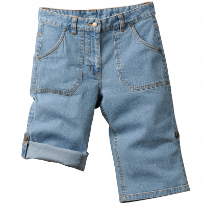 Short en jean extensible  : Vue 2