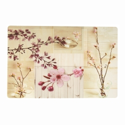 Set de table Fleurs de cerisier - Lot de 3