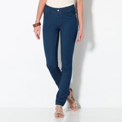 Pantalon maille jean ultra stretch