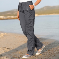 Pantalon retroussable