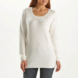 Pull uni manches longues