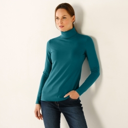 Sous-pull coton stretch