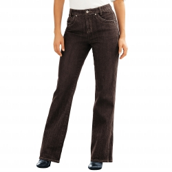 Jean amincissant denim extensible, entrej. 75 cm