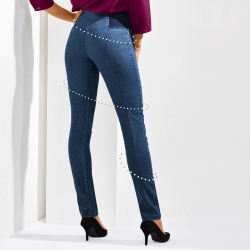 Caleçon gainant denim stretch